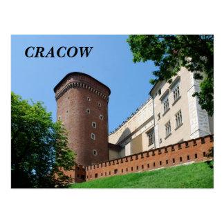 Castillo real de Wawel en Cracovia Postales