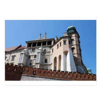 Castillo real de Wawel en Cracovia Tarjetas Postales