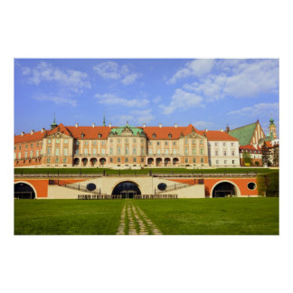 Castillo real en Varsovia Posters