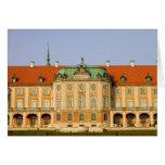 Castillo real en Varsovia Tarjeton