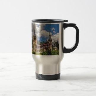 Castillo rumano tazas de café