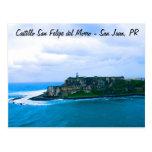 Castillo San Felipe del Morro - fuertes viejos de  Postal