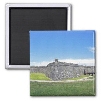 Castillo San Marcos 4 Imanes Para Frigoríficos