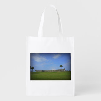 Castillo San Marcos 5 Reusable Grocery Bag