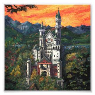 Castillo Schloss Neuschwanstein Fotografía