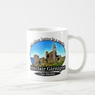 Castillo Sinclair Girnigoe Escocia de Sinclair del Taza