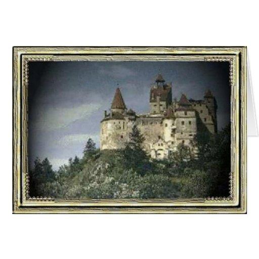 castillo tarjeta pequeña