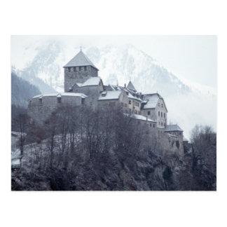 Castillo Vaduz Liechtenstein Postal
