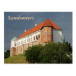 Castillo viejo en Sandomierz. Polonia Postales
