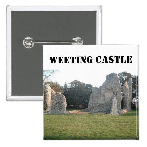 Castillo Weeting Norfolk Inglaterra de Weeting del Pins