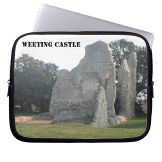 Castillo Weeting Norfolk Reino Unido de Weeting de Manga Portátil
