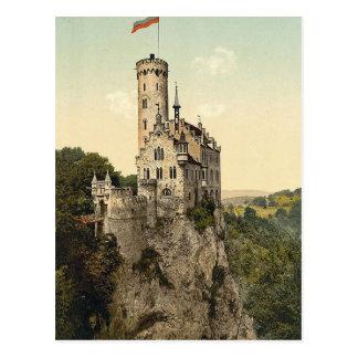 Castillo Wurtemburg, Alemania de Lichtenstein Postal