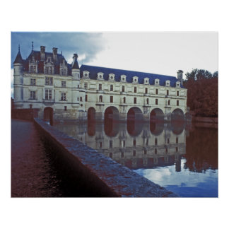 Castillo y fosa de Chenonceau Impresiones