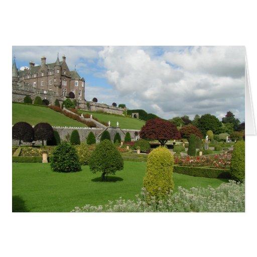 Castillo y jardines de Drummond Felicitación