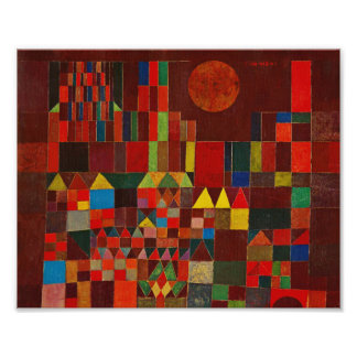 Castillo y Sun de Paul Klee Fotografia