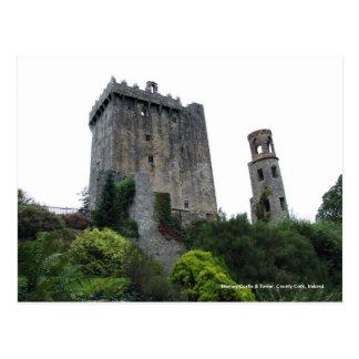 Castillo y torre, corcho, postales de la lisonja d