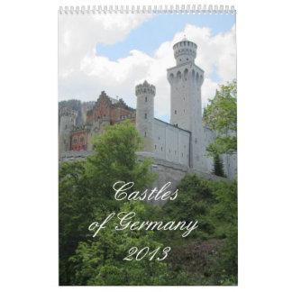 Castillos de Alemania 2013 Calendario
