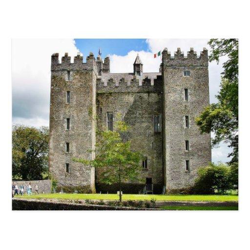 Castillos de Bunratty Tarjetas Postales