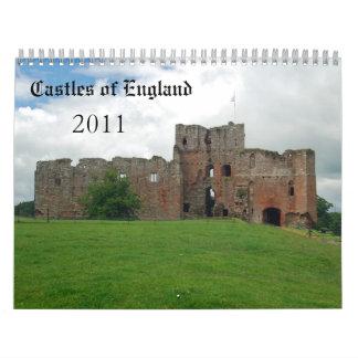Castillos de Inglaterra - 2011 Calendarios