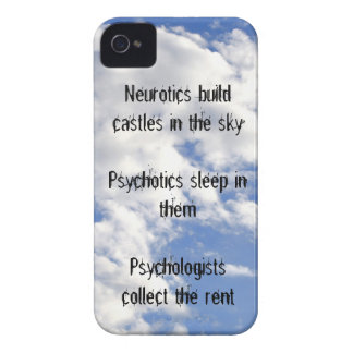 Castillos de la estructura de los neuróticos en el iPhone 4 Case-Mate protectores