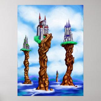 Castillos del mar de Loerin Póster