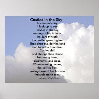 Castillos en el cielo poster