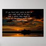 Castillos en el poster del aire - puesta del sol y