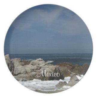 Castillos en la arena; Recuerdo de México Plato