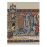 Castillos medievales postal