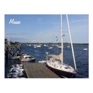 Castine, Maine postcard