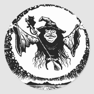 Casting a Spell Classic Round Sticker