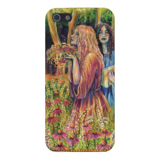 Casting a Spell Iphone 5 Case