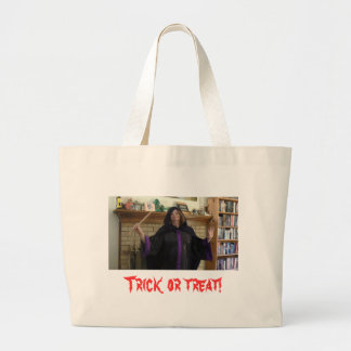 Casting a Spell Large Tote Bag
