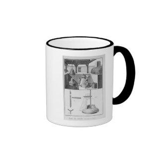Casting bells, illustration from 'Encyclopedia' Ringer Mug