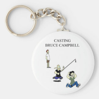 Casting Bruce Campbell Keychain