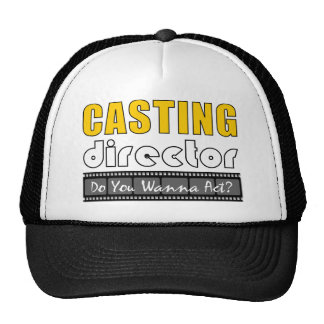 Casting Director Mesh Hat