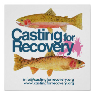 Casting for Recovery Art Poster