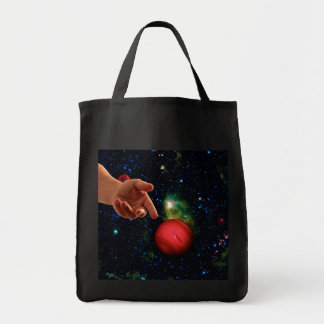 CASTING WORLDS (Hand of God series) (space) ~ Tote Bag