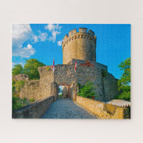 Castle Alsbach Germany. Jigsaw Puzzle