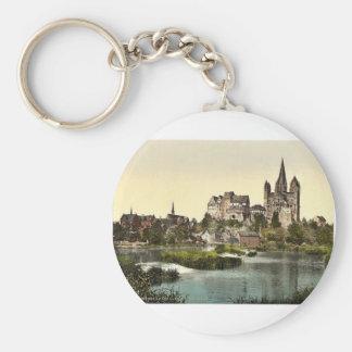 Castle and cathedral Limburg i e Limburg an de Key Chains