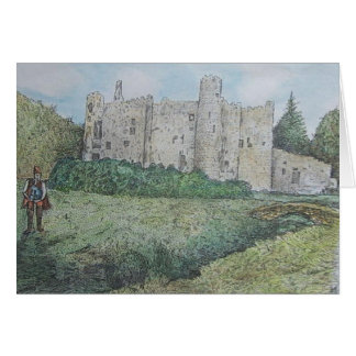 castle and piper greeting card