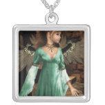 Castle Angel Custom Necklace