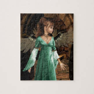 Castle Angel Jigsaw Puzzle