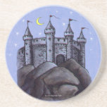 Castle at Night Coasters