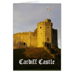 Castle at Sunset Card