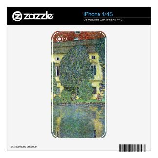 Castle at the Attersee by Gustav Klimt iPhone 4S Skin