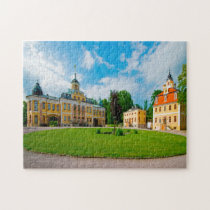 Castle Belvedere Weimar Thuringia Germany. Jigsaw Puzzle