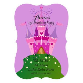 Castle Birthday Invitations
