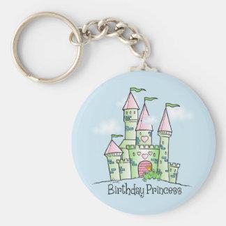 Castle Birthday Princess Key Chains