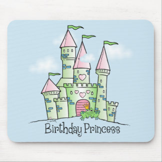 Castle Birthday Princess Mouse Pad